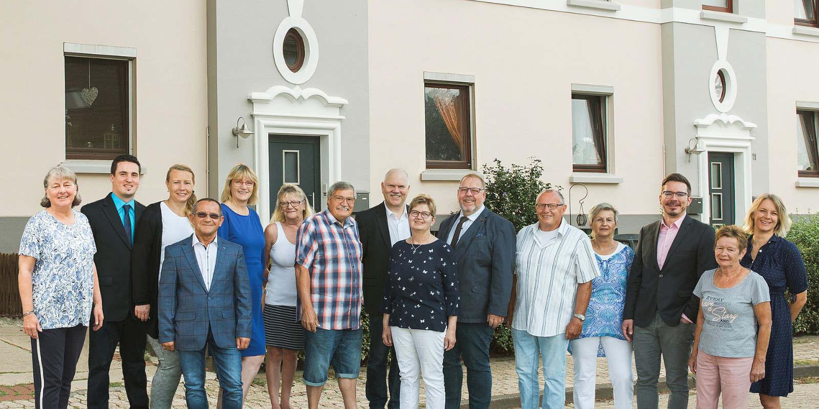 Das Team der Bau- und Wohnungsgenossenschaft Weyhe
